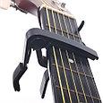 Каподастр для акустической гитары, черный, Alice A007A/BK, фото 2