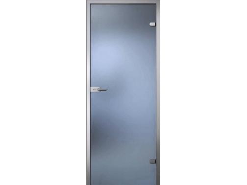 Матовая дверь стеклянная для бани