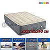 """Двухспальный надувная кровать """"PREMAIRE QUEEN"""" Intex 64926, размер 203x152x46 см"""