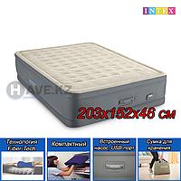 """Двухспальный надувная кровать """"PREMAIRE QUEEN"""" Intex 64926, размер 203x152x46 см, фото 1"""