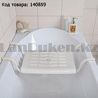 Сиденье в ванну пластиковое со стальным корпусом  Nika СВ4
