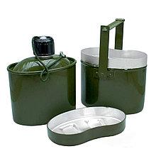 Набор посуды туристической (котелок, фляжка, миска) TOHAP HELIOS