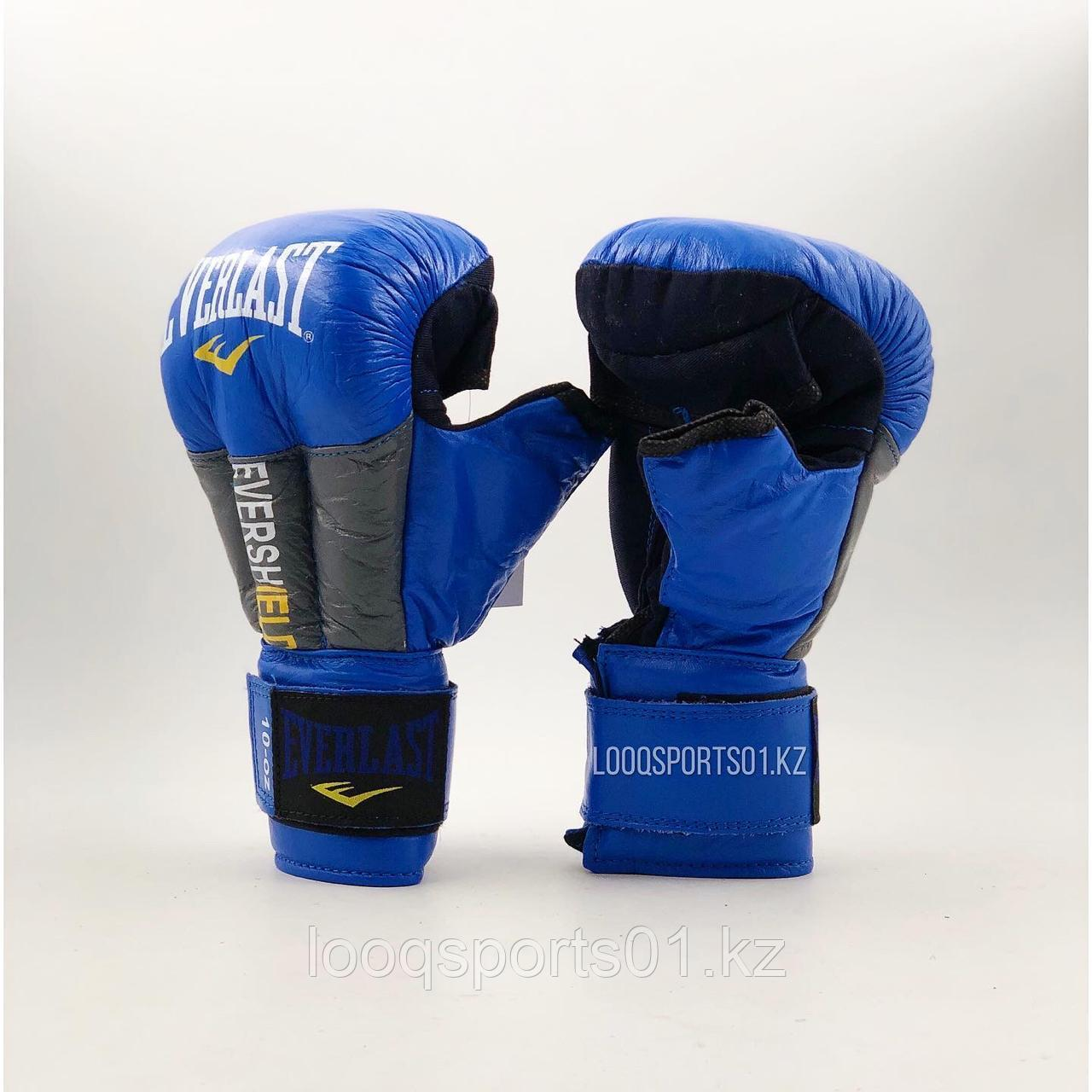 Перчатки для единоборств кожа (рукопашного боя) Everlast