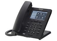 Проводной SIP-телефон Panasonic KX-HDV330RUB 4.3-дюйм,12 линий, 2 порта, PoE, память 500 ном /