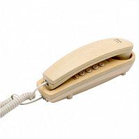 Телефон проводной Ritmix RT-005 светлое дерево, фото 1
