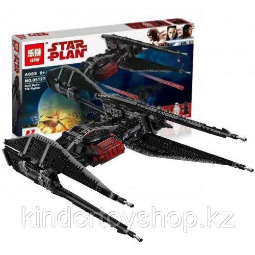 """Конструктор Bela 10907 """"Истребитель СИД Кайло Рена"""", 648 деталей, аналог Lego Star Wars 75179"""