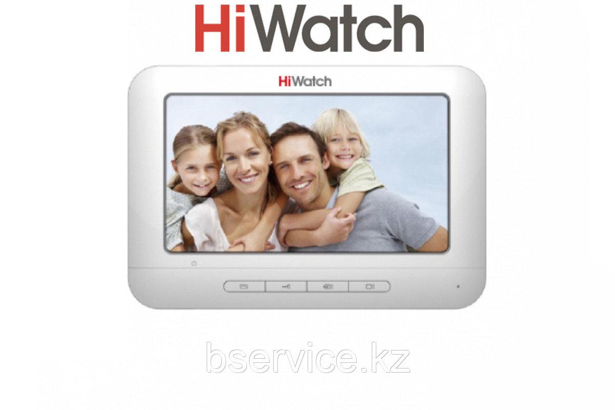 Монитор видеодомофона HiWatch с памятью