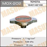 Крышка радиатора MASUMA 1.1 с маленьким клапаном MOX-202   MASUMA