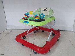 Устойчивые ходунки Hawks на гелевых колесах и со стопором