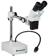 Микроскоп стереоскопический Bresser Biorit ICD CS 5–20x LED, фото 1