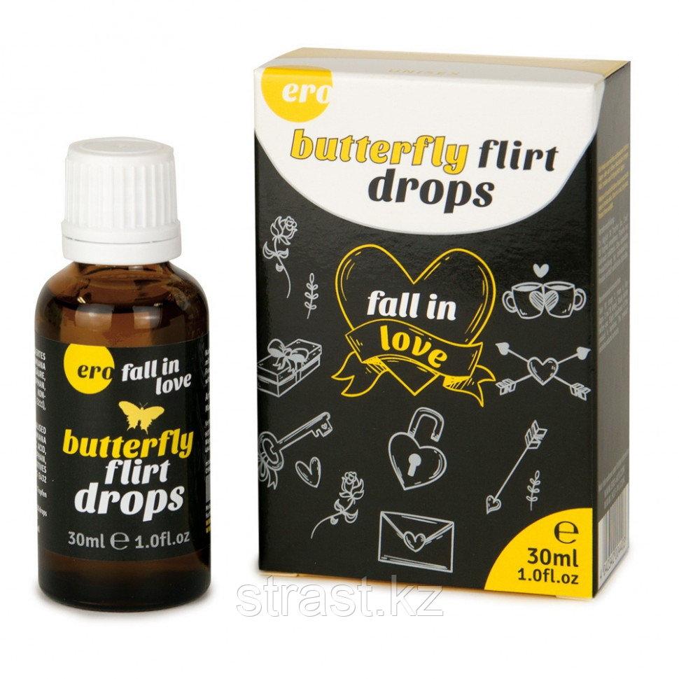 Возбудитель Butterfly flirt drops (Флирт бабочки) для мужчин и женщин, 30 мл