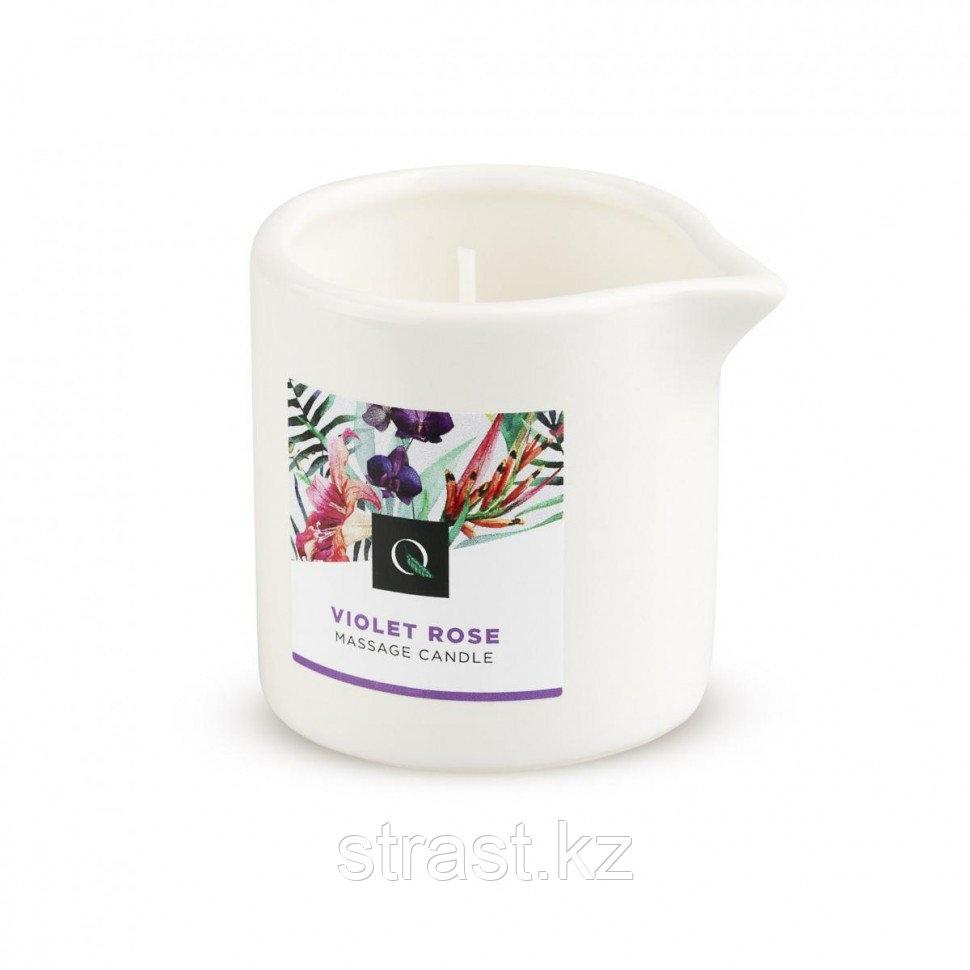 Exotiq Massage Candle Violet Rose - массажная свеча фиалка и роза, 60 мл. (только доставка)