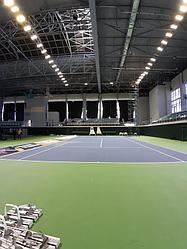Освещение теннисного корта спорт комплекс Даулет  1