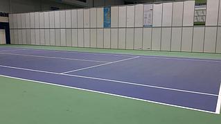Освещение теннисного корта спорт комплекс Даулет  4
