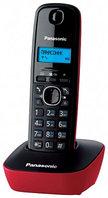 Радиотелефон PANASONIC KX-TG1611CAR (RU). АОН на50звонков, тел.книга на 50номеров, 15ч в режиме разг