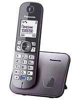 Радиотелефон PANASONIC KX-TG6811(RUM)CAM, caller ID, АОН, тел. книга 120 номеров, функция резервного