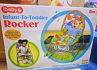 Детский шезлонг-качалка iBaby 68105