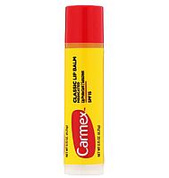 Carmex, классический бальзам для губ, лечебный с SPF 15, 4,25 г (0,15 унции)