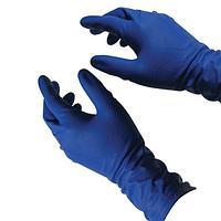 Перчатки Хайриск латексные повышенной прочности неопудренные (хозяйственные) р-р S, 50 шт