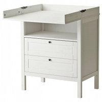 Пеленальные столики и аксессуары IKEA IKEA СУНДВИК Пеленальный стол/комод