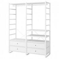 Гардеробные системы IKEA IKEA ЭЛВАРЛИ 2 секции