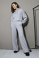 Женский осенний трикотажный серый спортивный спортивный костюм Prestige 3973/170 синий 42р.