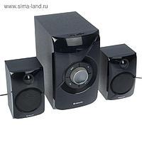 Компьютерные колонки 2.1 Defender X420, 2х12 Вт+16 Вт, MP3, FM, BT, ПДУ, 220 В, черные