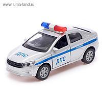 Машина металлическая Auto-RUS Спецслужбы, открываются двери, инерция, МИКС