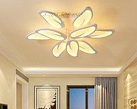 Потолочная светодиодная люстра на 9 ламп 6607-6+3