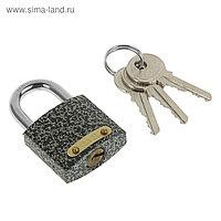 "Замок навесной ""Фабрика Замков"" 303F-30, d=5.3 мм, 3 ключа , картонная коробка"