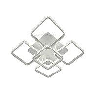 Потолочная хрустальная светодиодная люстра на 5 квадратов C6604-4+1