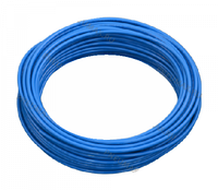 PA12 14x11 LIGHT BLUE - ТРУБКА РИЛСАНОВАЯ голубая, Рраб =16бар