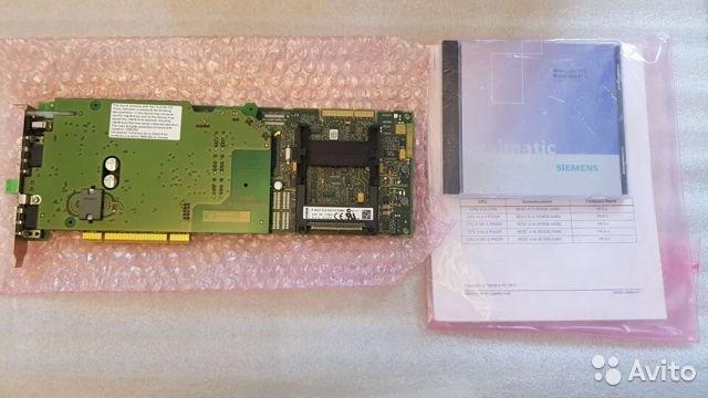 Siemens Simatic winac CPU412-2 Плата PCI V4