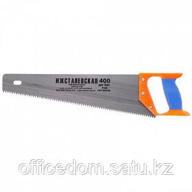 Ножовка по дереву, 500 мм, шаг зубьев 6,5 мм, пластиковая рукоятка