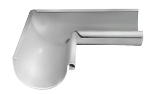 Угол желоба внутренний 90 гр 125 мм RAL 9003 Белый