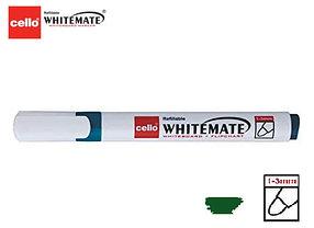 Маркер для белой доски Cello Whitemate зеленый