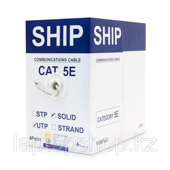 Кабель сетевой SHIP D135-P, Cat.5e, UTP, 4x2x1/0.51мм, PVC, 305 м/б