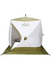Палатка для зимней рыбалки PF-TW-14 Куб Следопыт Premium 2,1х2,1, фото 2