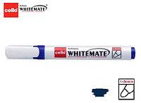 Маркер для белой доски Cello Whitemate синий