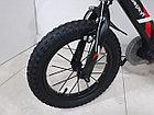 Легкий детский велосипед Беркут 14 колеса. Алюминиевая рама., фото 4