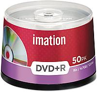 Диски DVD+R 16X 50Pack SPINDLE IMATION 4.7GB
