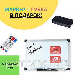 Доска магнитно-маркерная, Comix, BO9012, Настенная, 90*120 см + ПОДАРОК
