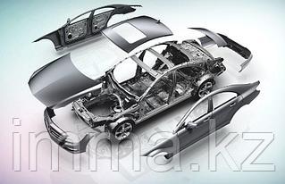 Стекло кузова (собачник) заднее правое HUMMER P13S/H3 5D SUV 2004-
