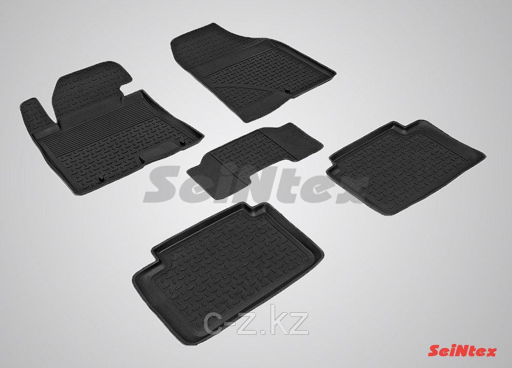 Резиновые коврики с высоким бортом для Hyundai i30 2012-2017