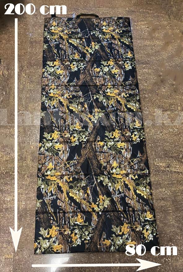 Каремат туристический складной в двухсторонней расцветке на резинках 80*200 см - фото 2