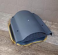 Вентиль (аэратор) KRONO-PLAST для профиля KRONA, Дюна , Фортуна , Андалузия (бочкообразные МЧ) Серый