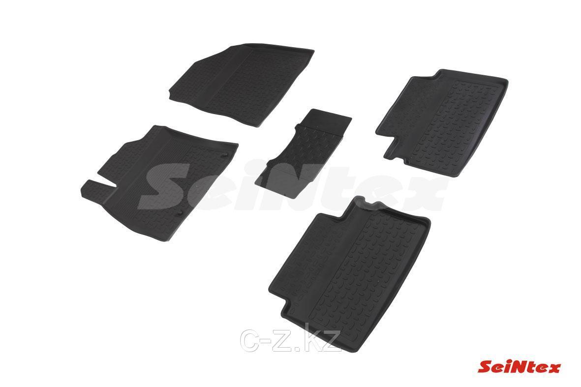 Резиновые коврики с высоким бортом для KIA Cee'd III 2018-н.в.