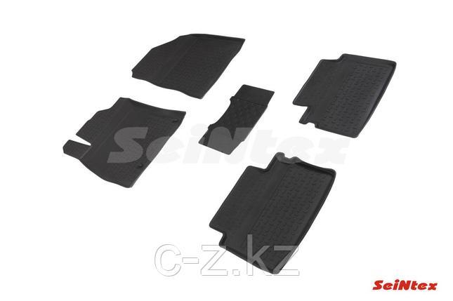 Резиновые коврики с высоким бортом для KIA Cee'd III 2018-н.в., фото 2