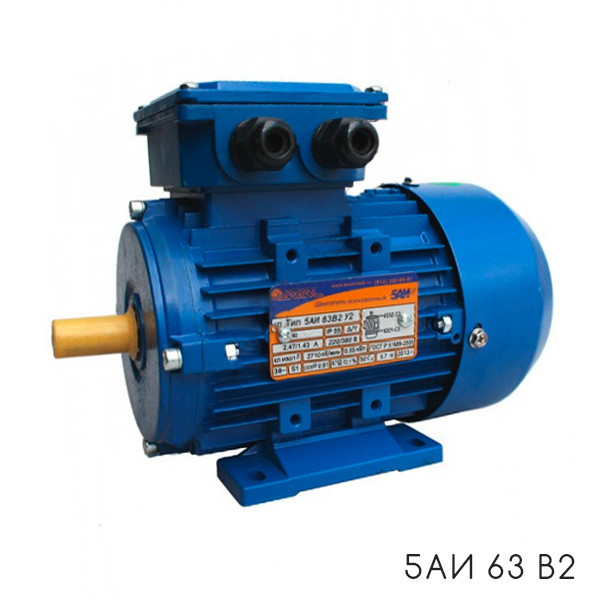 Электродвигатель 0,55кВт 1500 об/мин  5АИ 71A4 0,55/1500 1081
