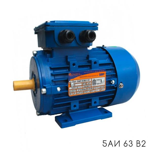 Эл/двигатель 5АИ 71В4 0,75/1500 1081